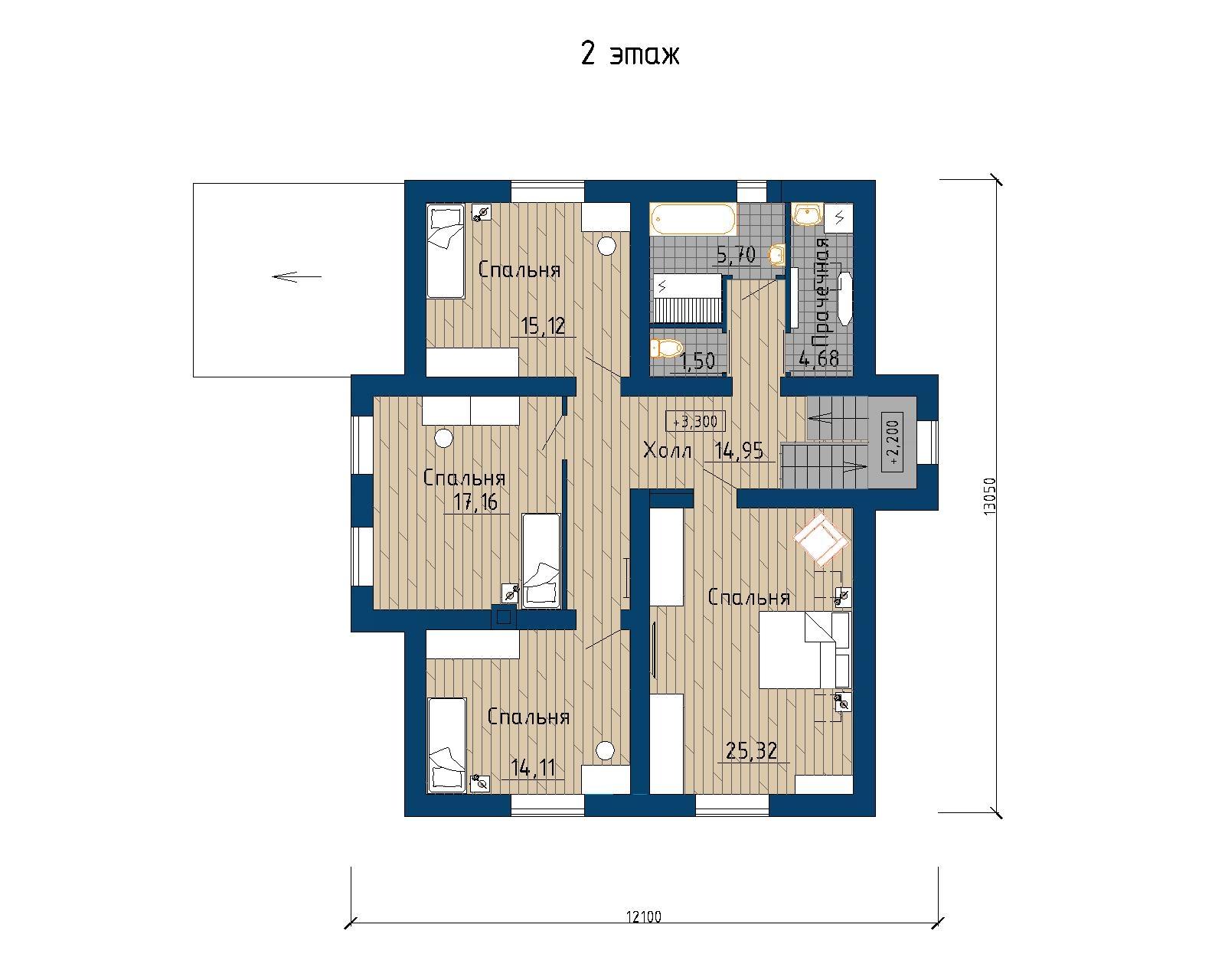 Проект 67.17 план