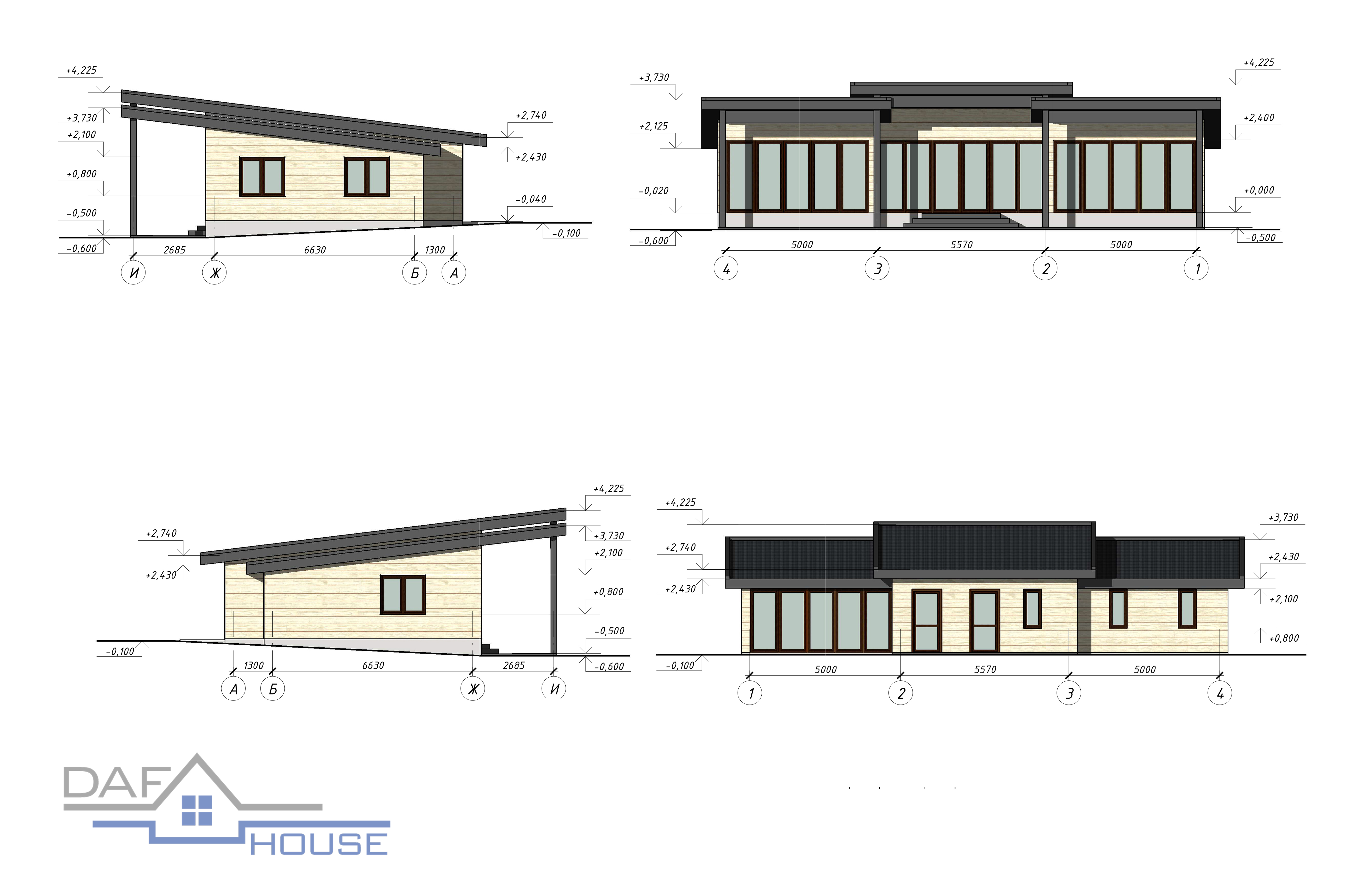 Проект А5663 фасад