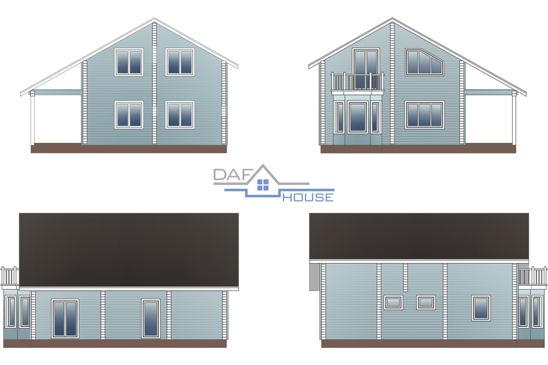 Проект В5683 фасад
