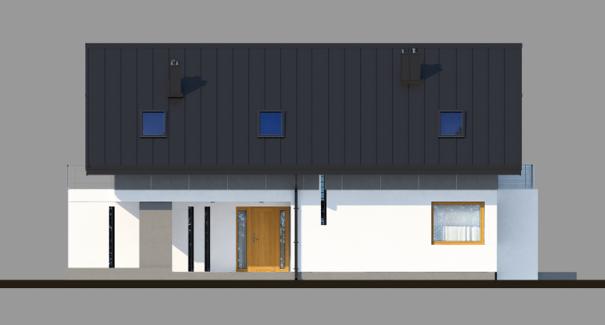 Проект дома 4m707 фасад