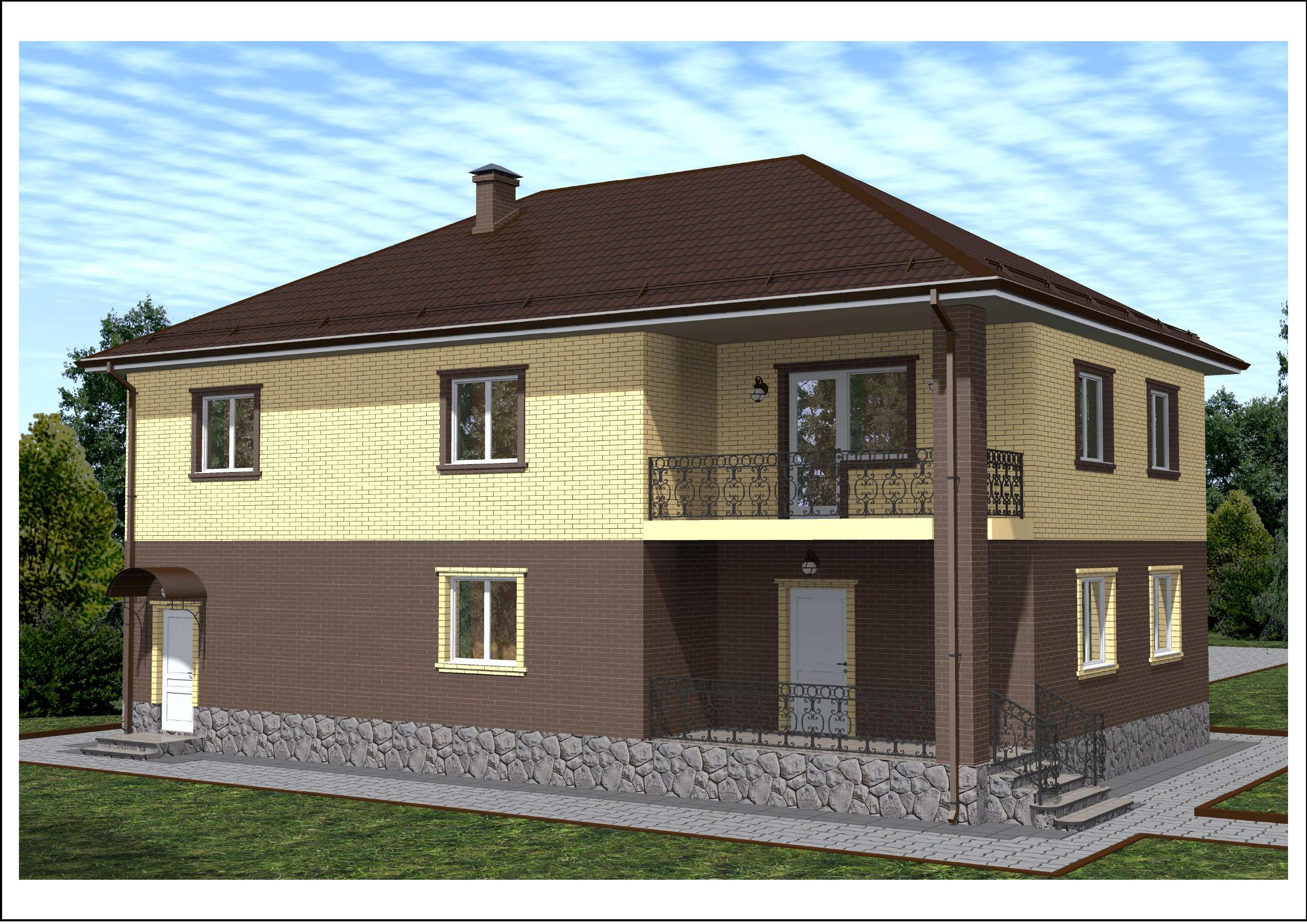 Проект 51.16 фасад