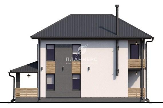 Проект Планнерс 024-161-2 фасад