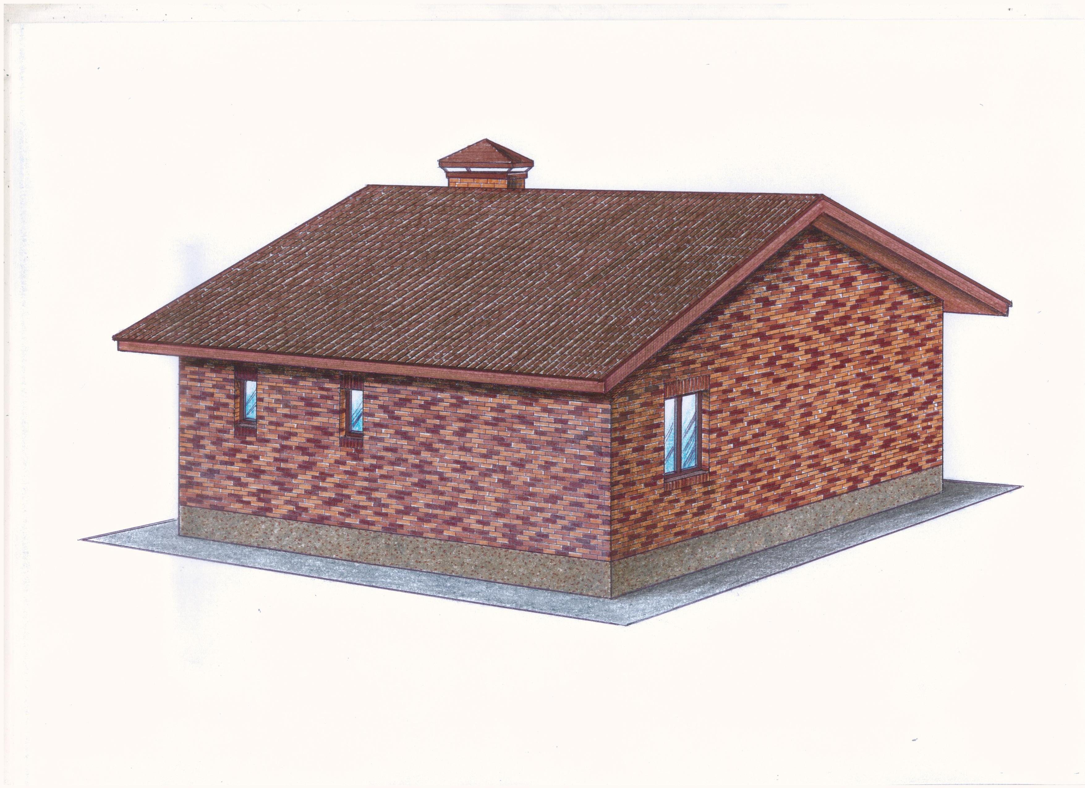 """Проект """"Иж-376"""" фасад"""
