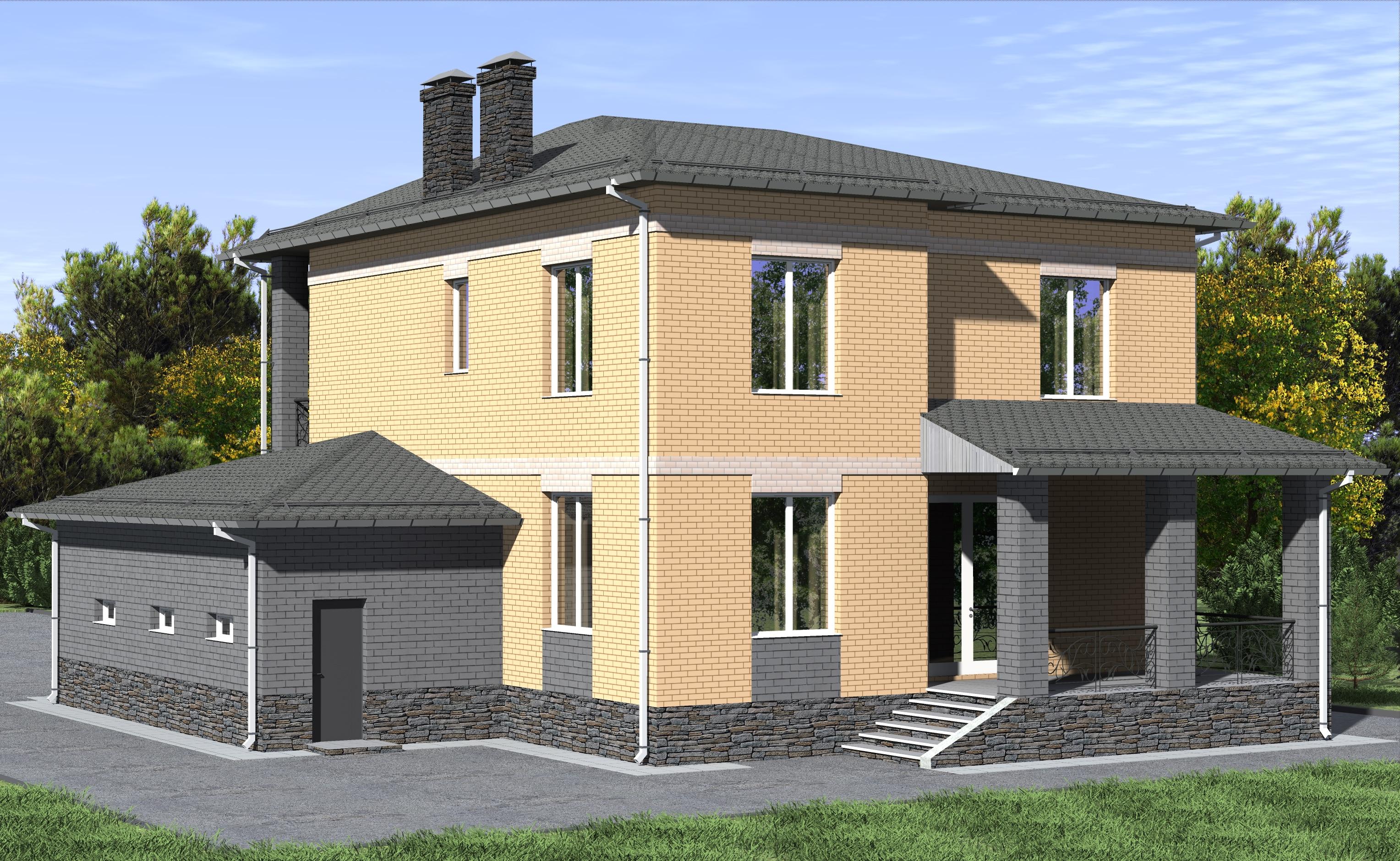Проект 35.15 фасад