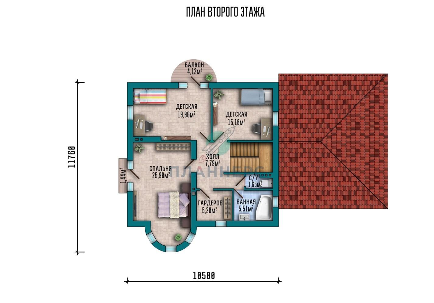 Проект Планнерс 014-210-1МГ  план