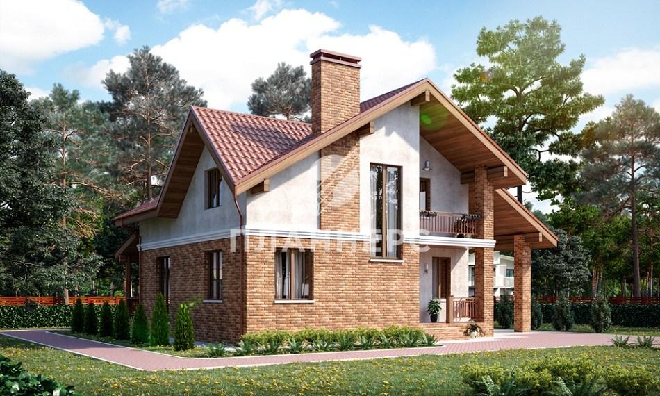Проект Планнерс 020-166-1МГ фасад