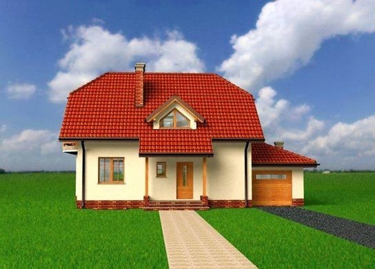 Проект дома 4m3097 фасад