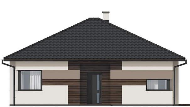 Проект дома 4m597 фасад