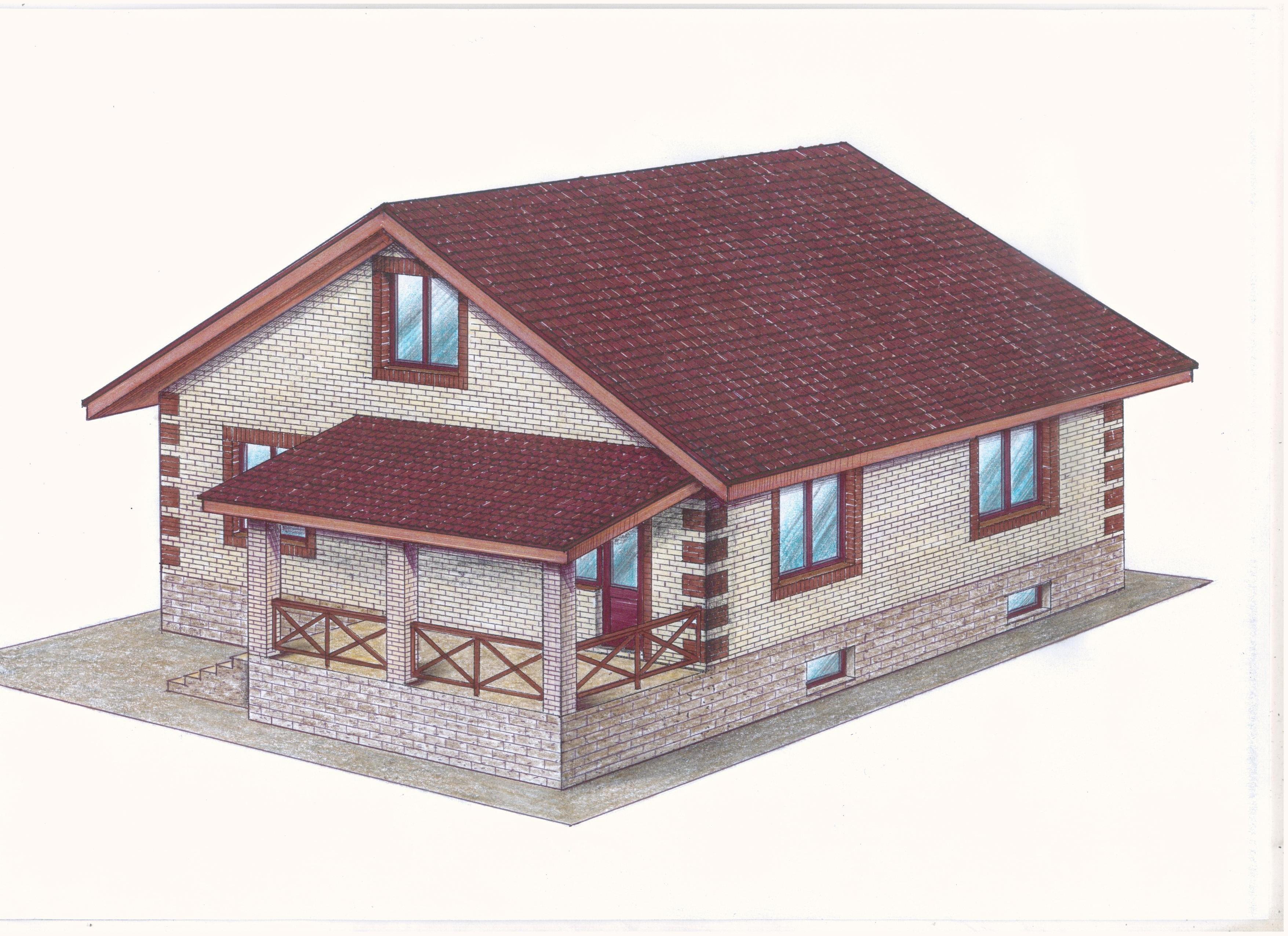 Проект Иж-381 фасад