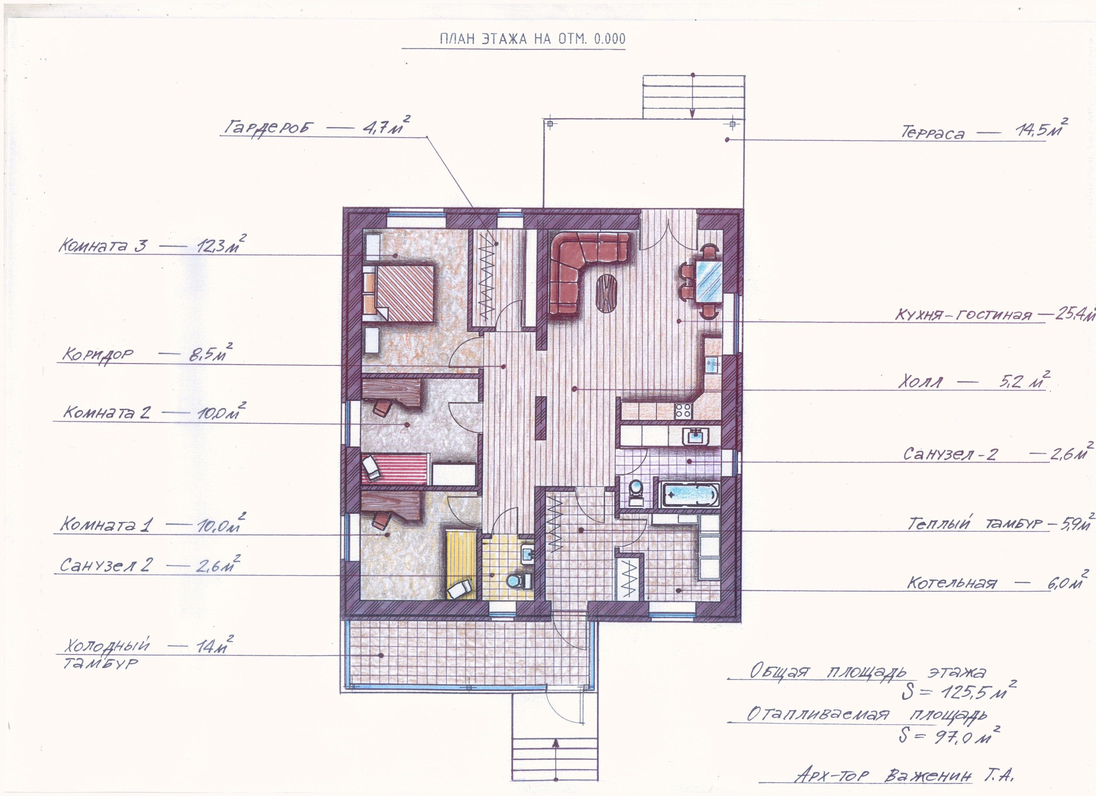 "Проект ""Иж-382"" план"