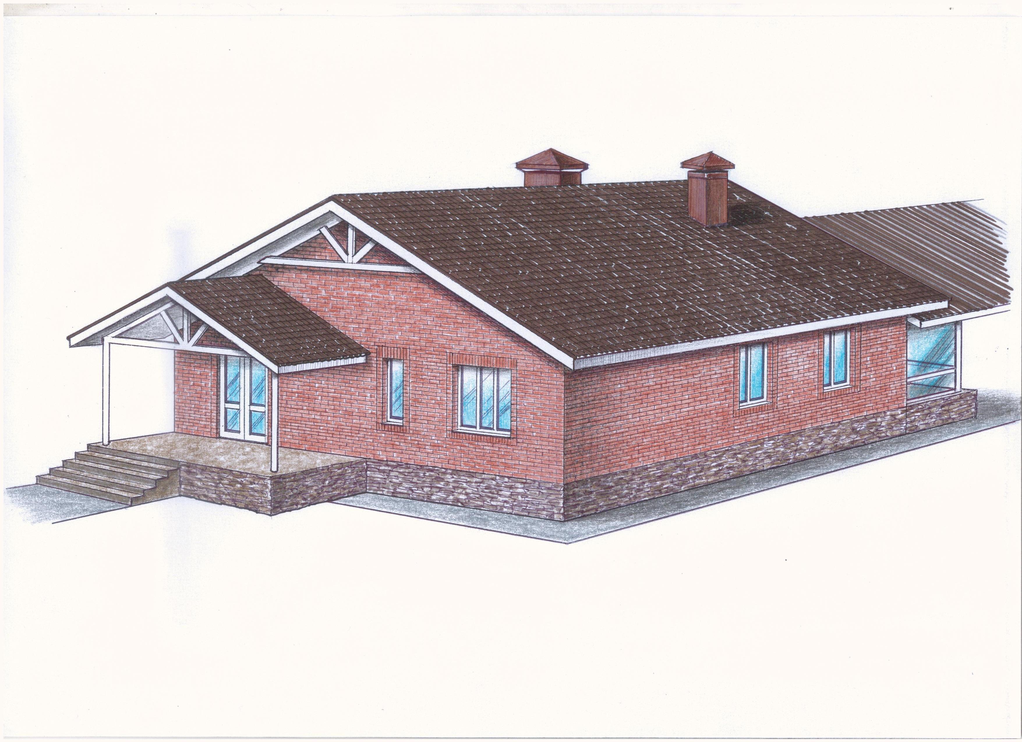 """Проект """"Иж-382"""" фасад"""