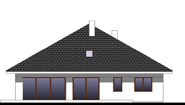 Проект дома 4m788 фасад