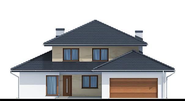 Проект дома 4m739 фасад