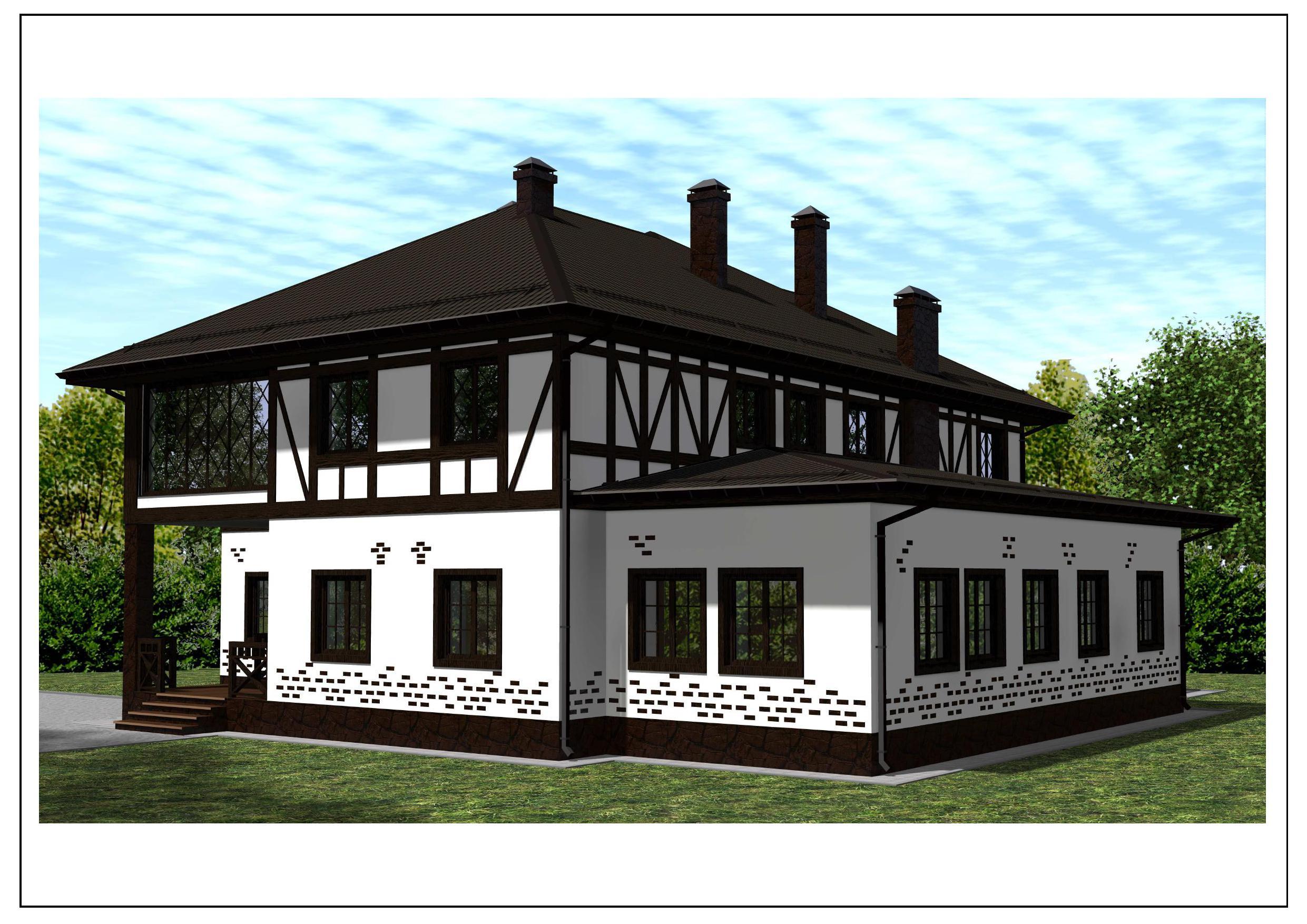 Проект 54.1.16 фасад