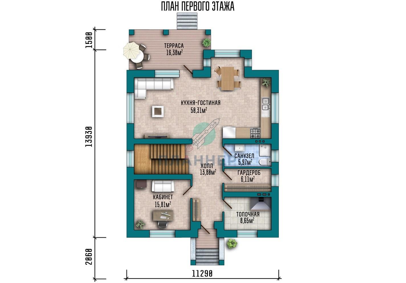 Проект Планнерс 015-200-2 план