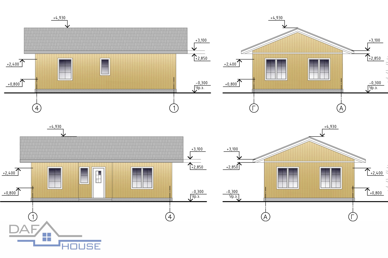 Проект А3362 фасад
