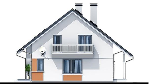 Проект дома 4m799 фасад