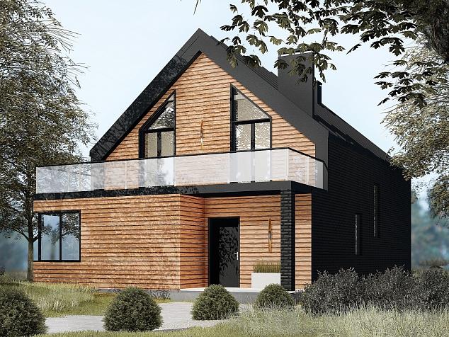 Проект В-157-2 Базис Строй  фасад