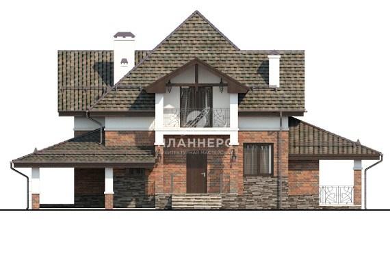 Проект дома Планнерс 017-144-1МГ фасад