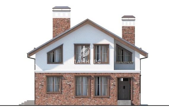Проект дома Планнерс 018-152-1М фасад