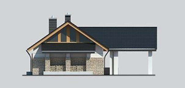 Проект дома 4m729 фасад