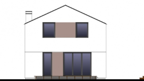 Проект дома 4m790 фасад