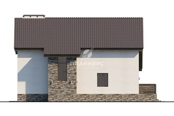 Проект дома Планнерс 012-217-1М фасад