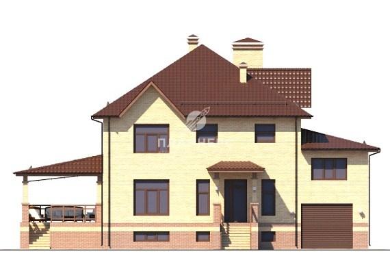 Проект Планнерс 011-429-2ПГ фасад