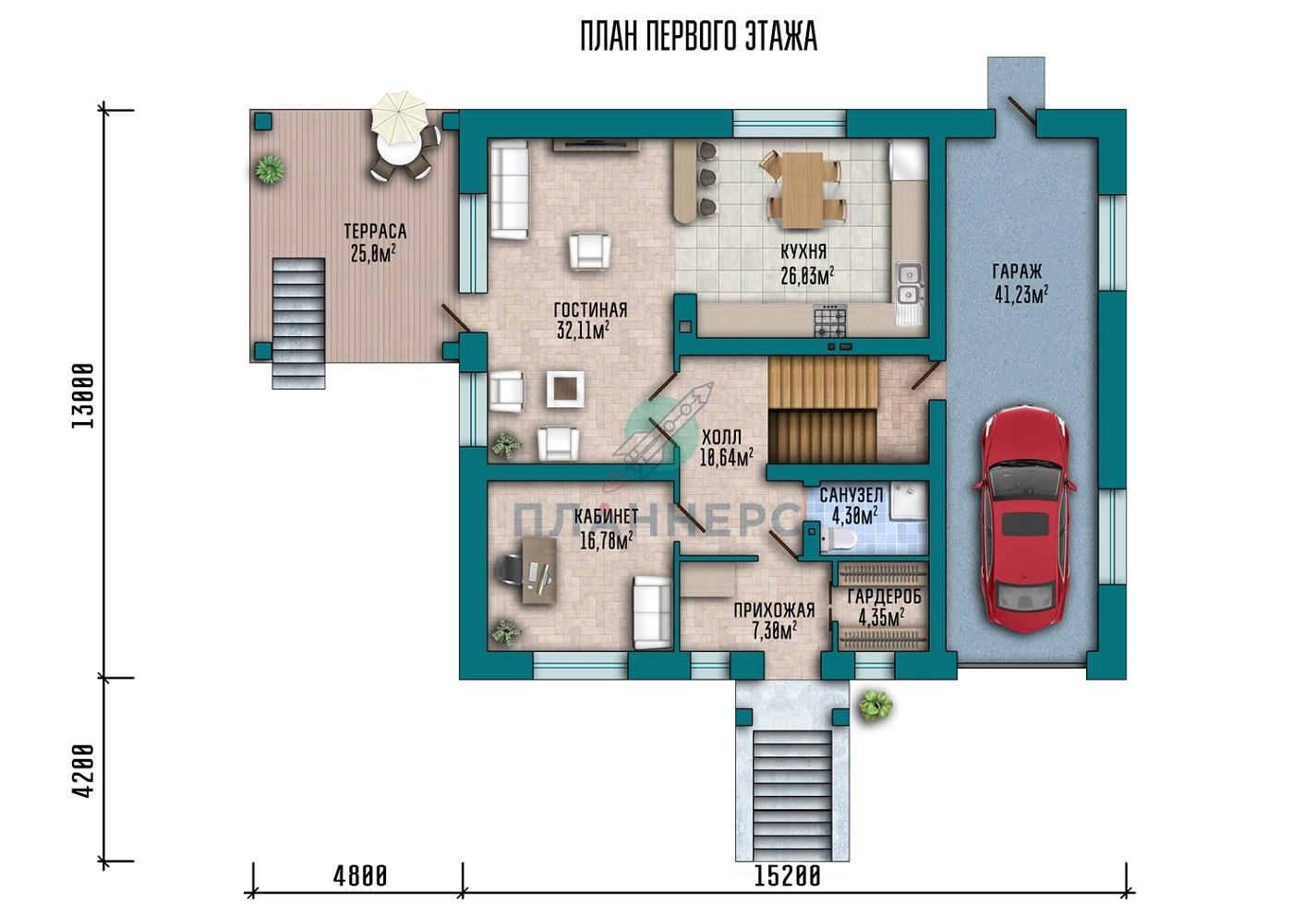 Проект Планнерс 011-429-2ПГ план
