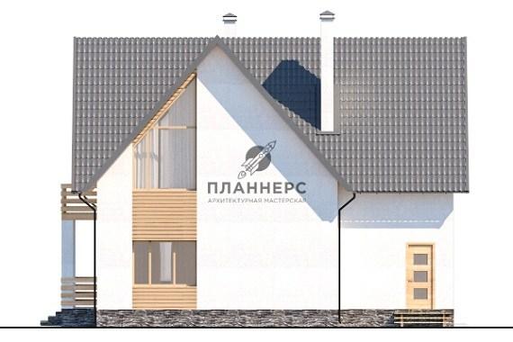 Проект Планнерс 001-151-1М фасад