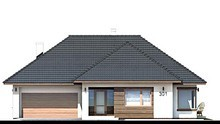 Проект дома 4m780 фасад