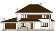 Проект дома 4m1439 фасад