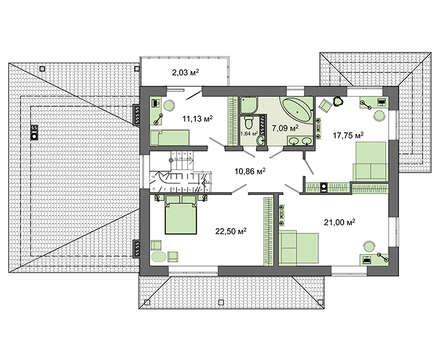 Проект дома 4m1439 план