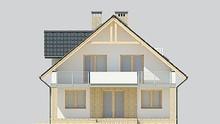 Проект дома 4m041 фасад