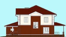 Проект дома 4m1447 фасад