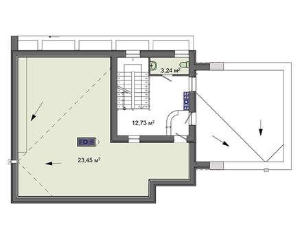 Проект дома 4m1449 план