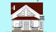 Проект дома 4m1446 фасад