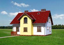 Проект дома 4m3757 фасад
