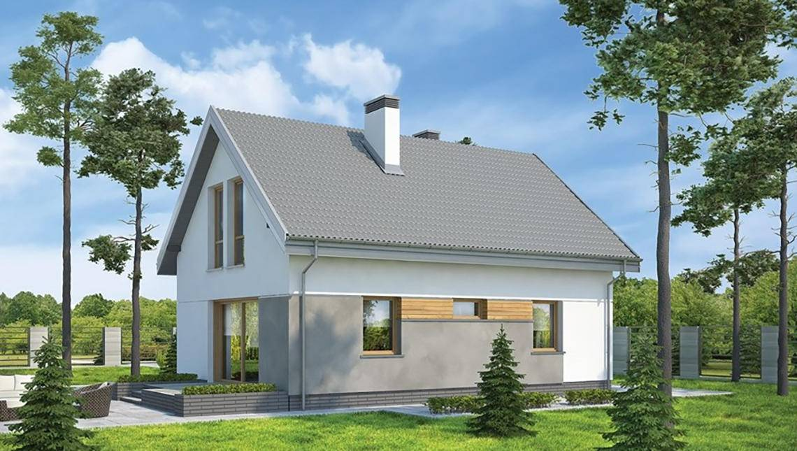 Проект дома 4m6177b фасад