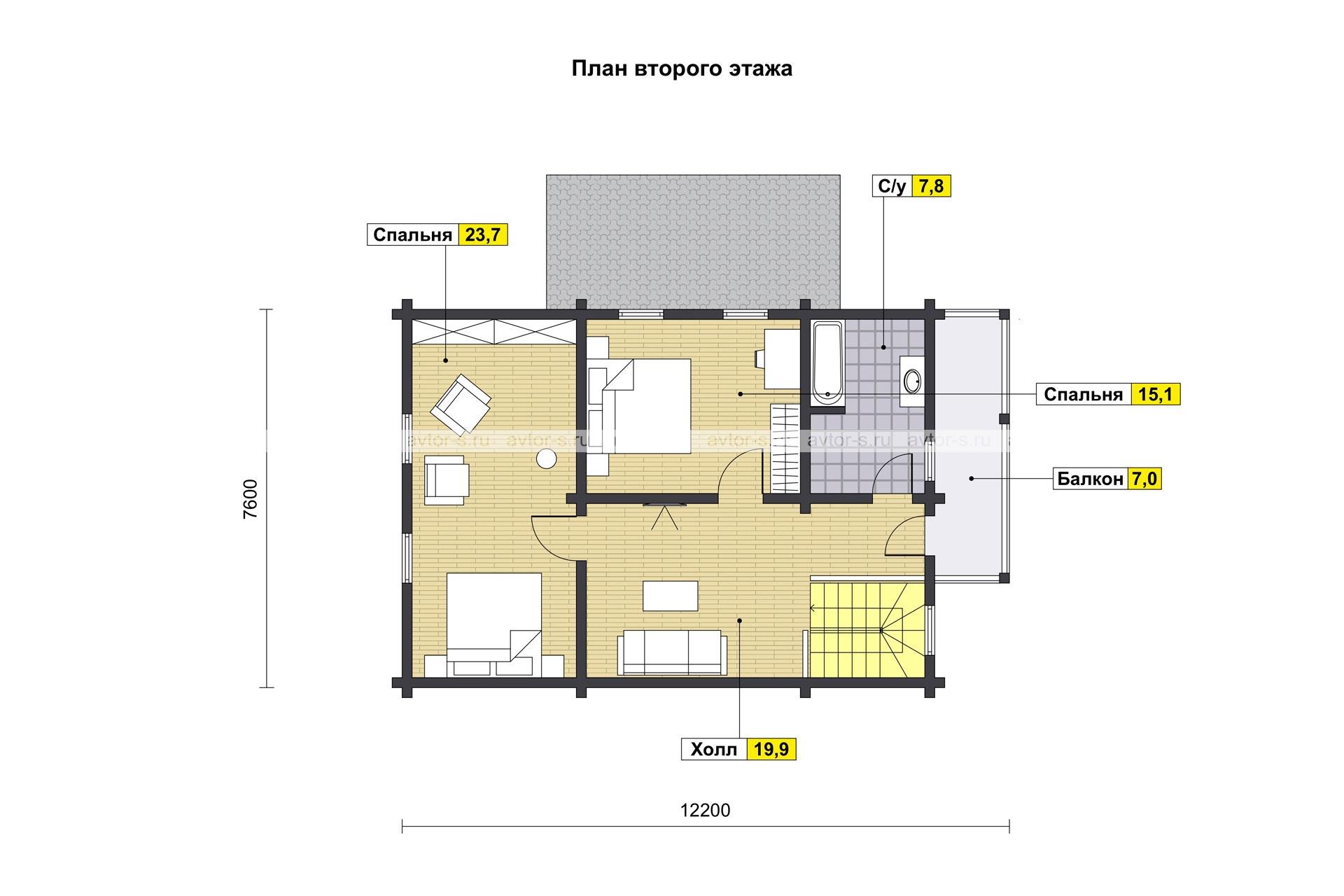 Проект AV204 план