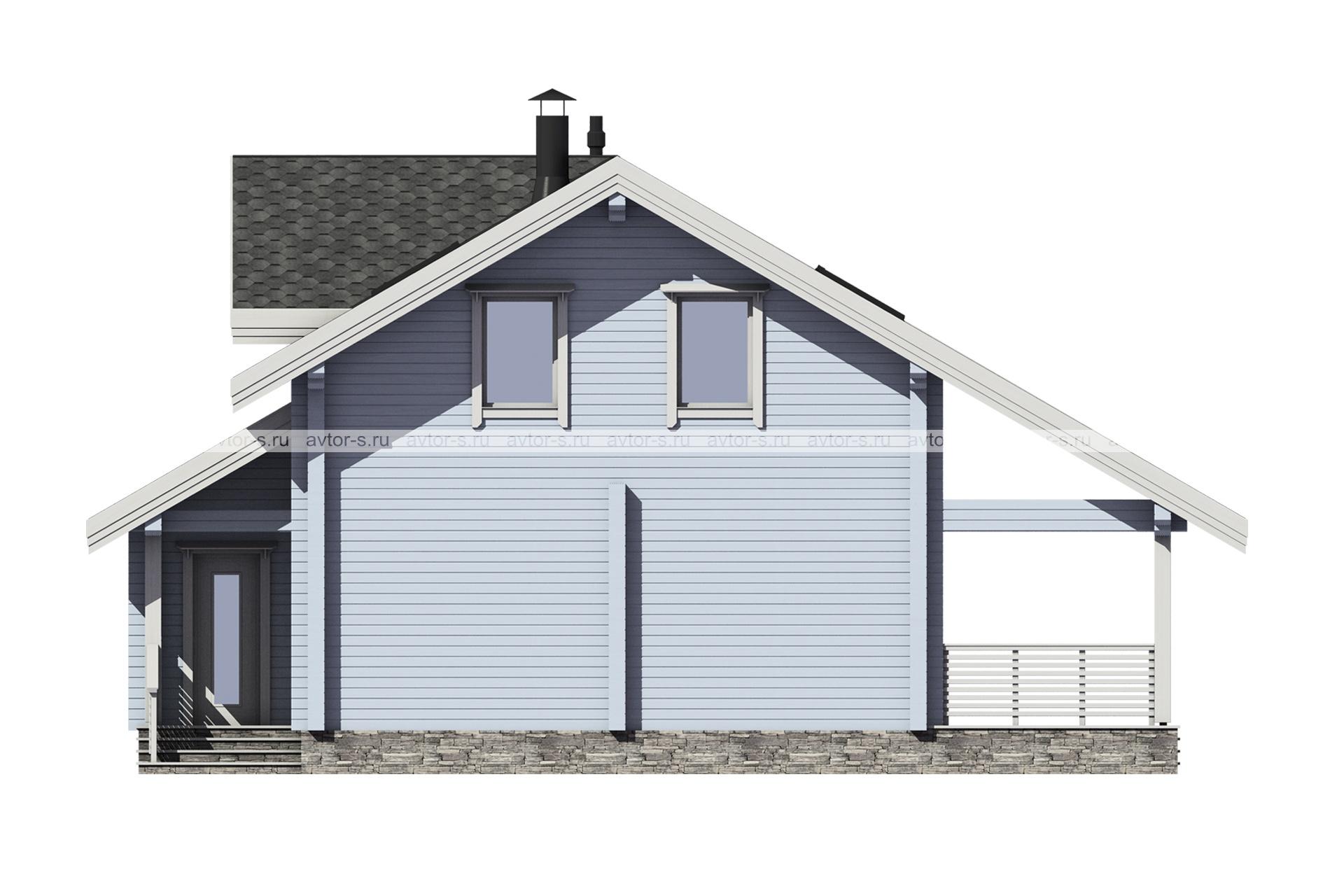 Проект AV204 фасад