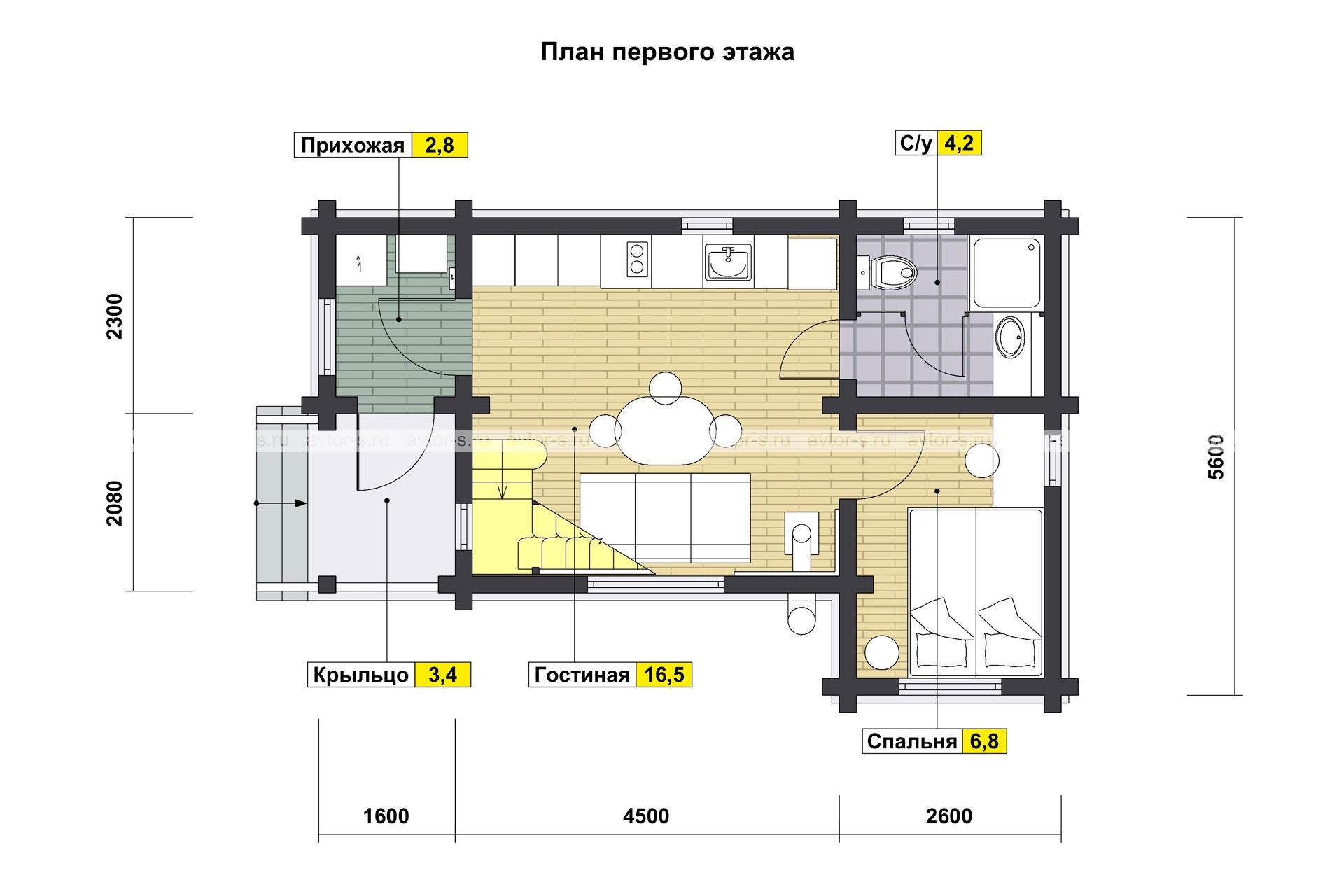 Проект AV202 план
