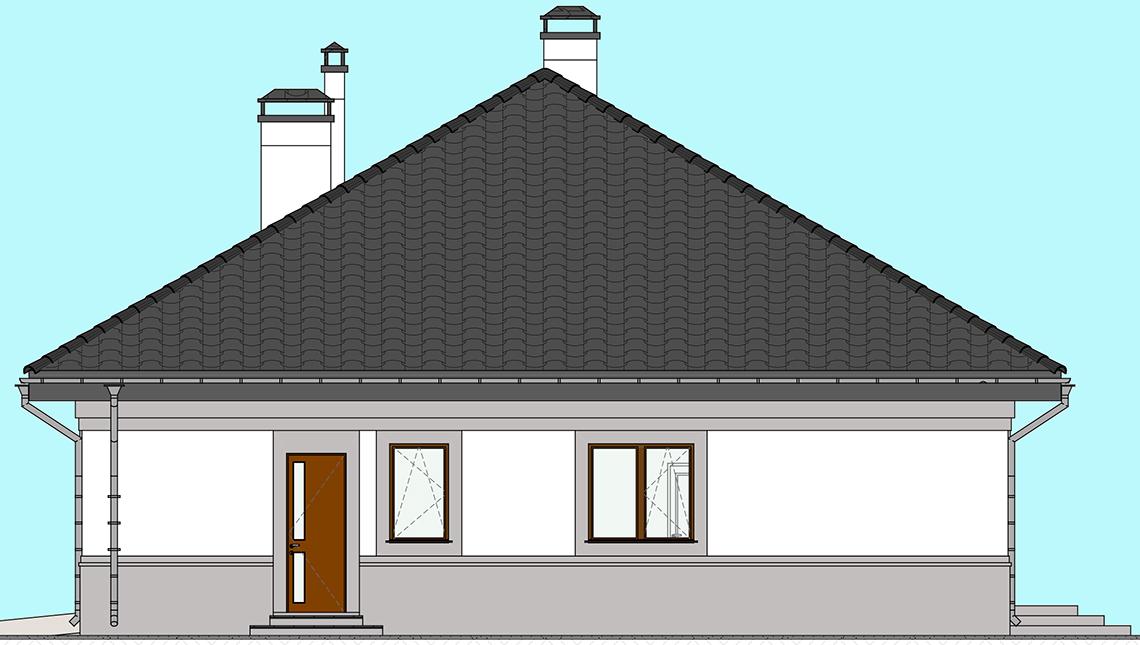 Проект дома 4m1453 фасад