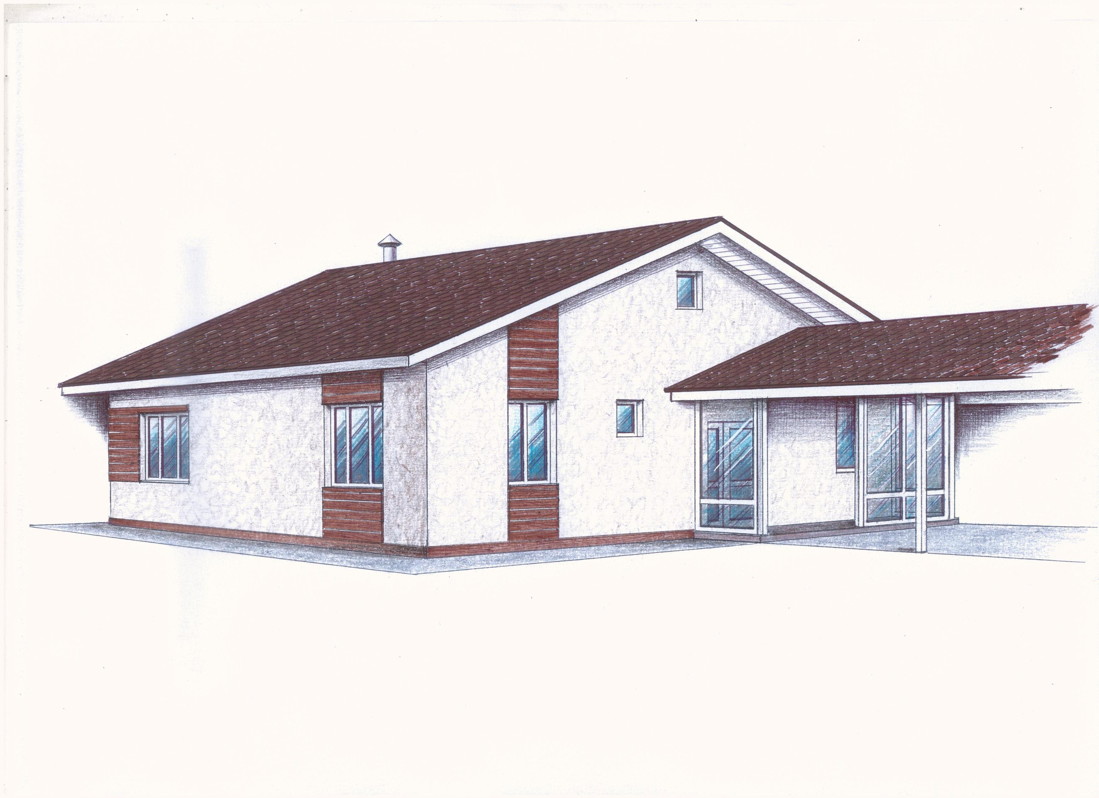"""Проект """"Иж-385"""" фасад"""