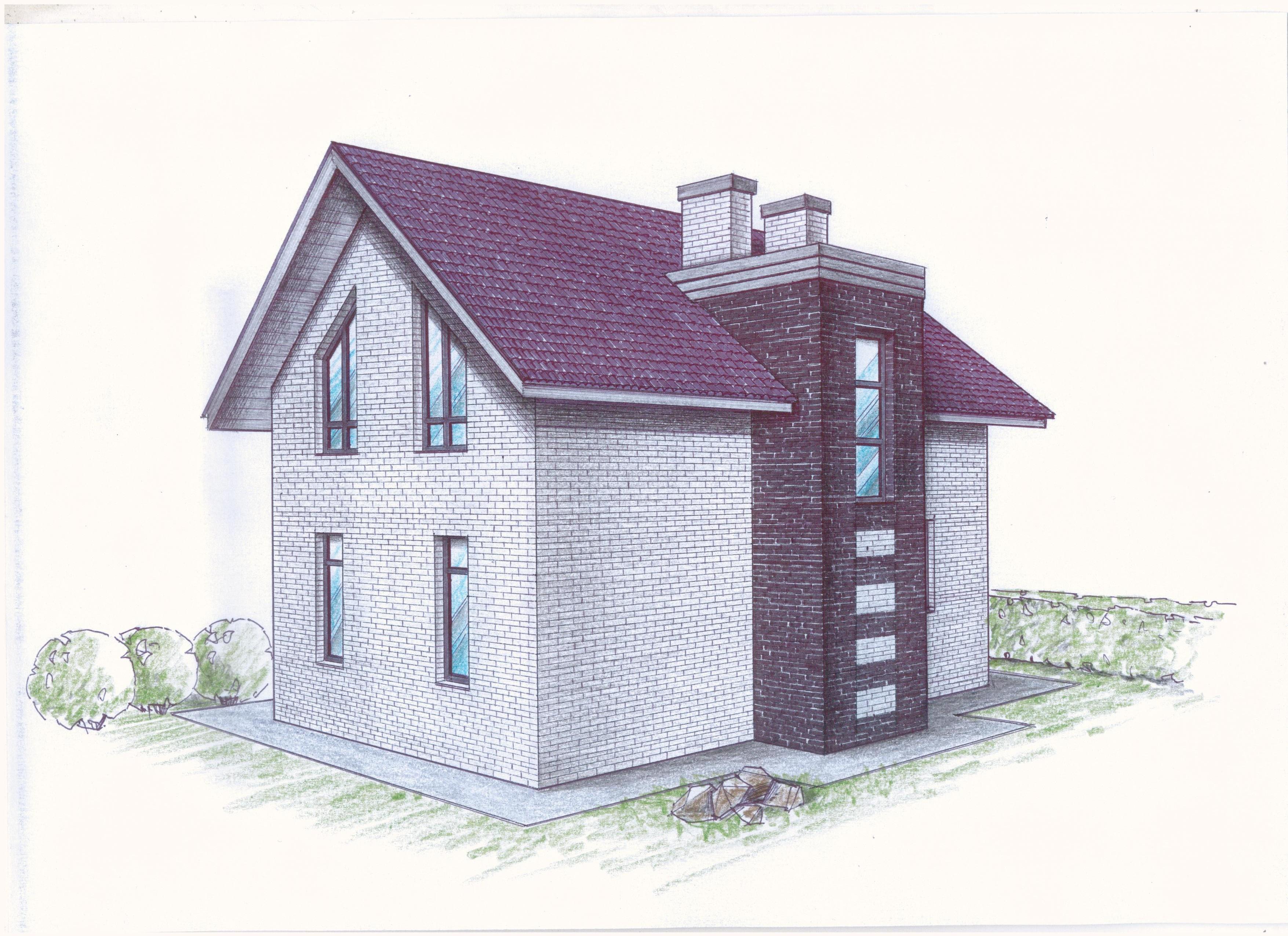 """Проект """"Иж-386"""" фасад"""