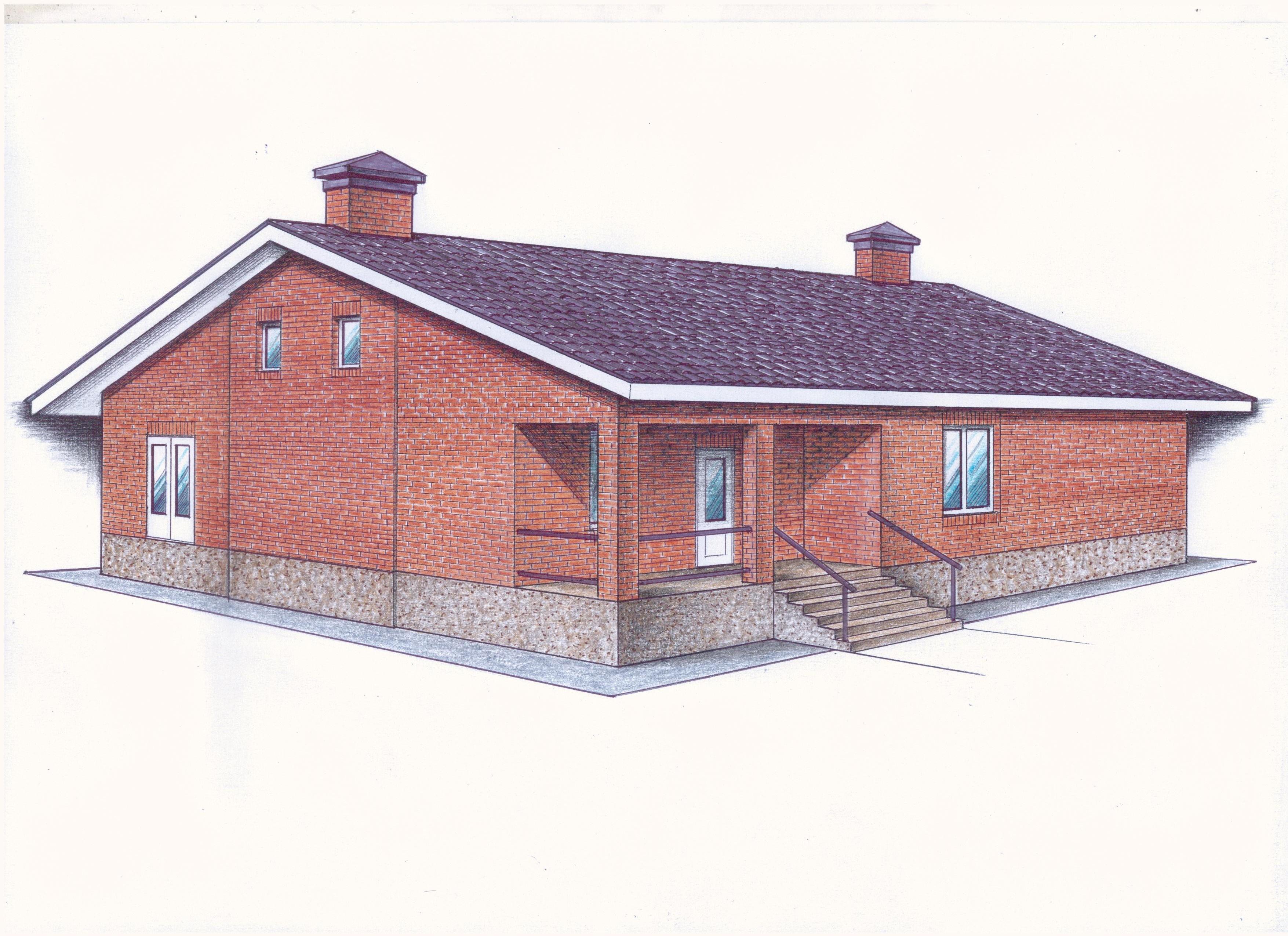 """Проект """"Иж-389"""" фасад"""