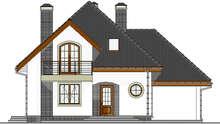 Проект дома 4m1452 фасад