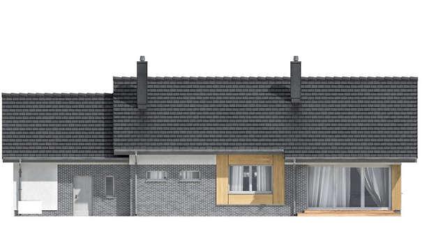 Проект дома 4m7150 фасад