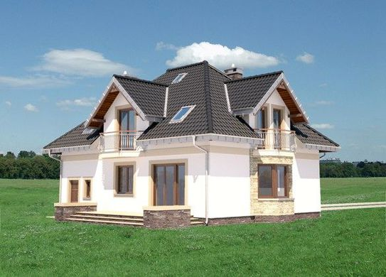 Проект дома 4m318 фасад