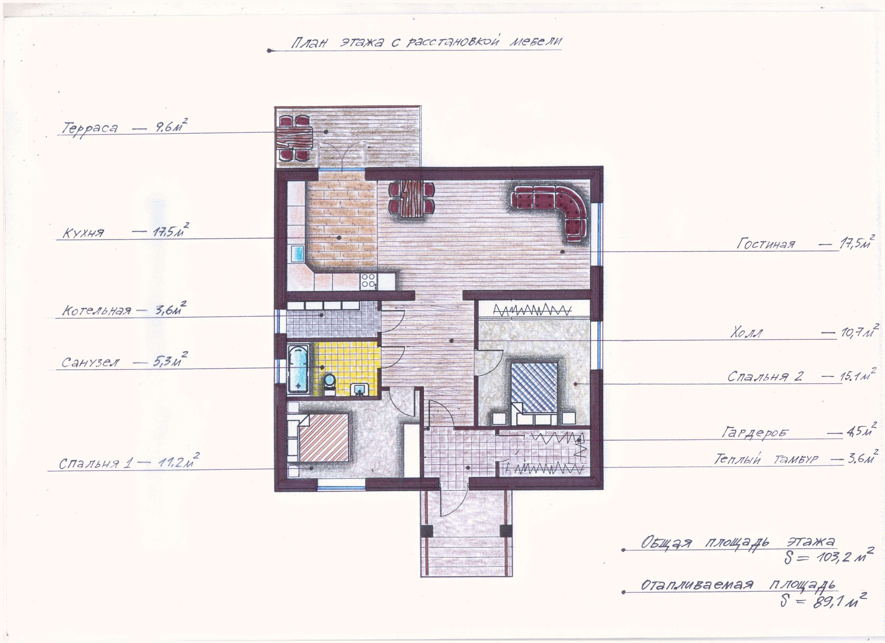 Проект Иж-390 план